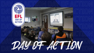 Young Stags Duo Inspire Participants | EFL Day of Action