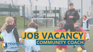 Job Vacancy: Community Coach